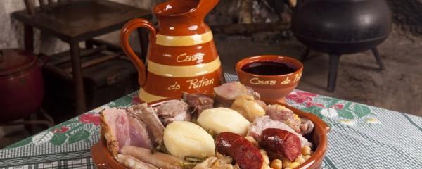 Cocido de Lalín y postres caseros