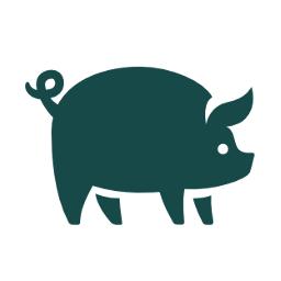 Cerdos de porcelana