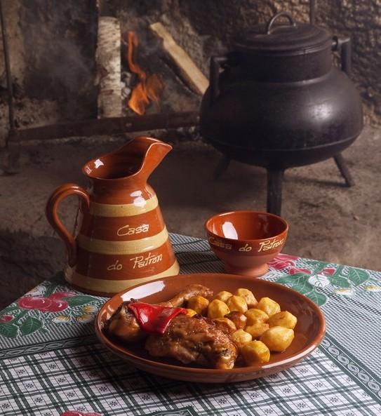 Comida tradicional en Restaurante Casa do Patrón