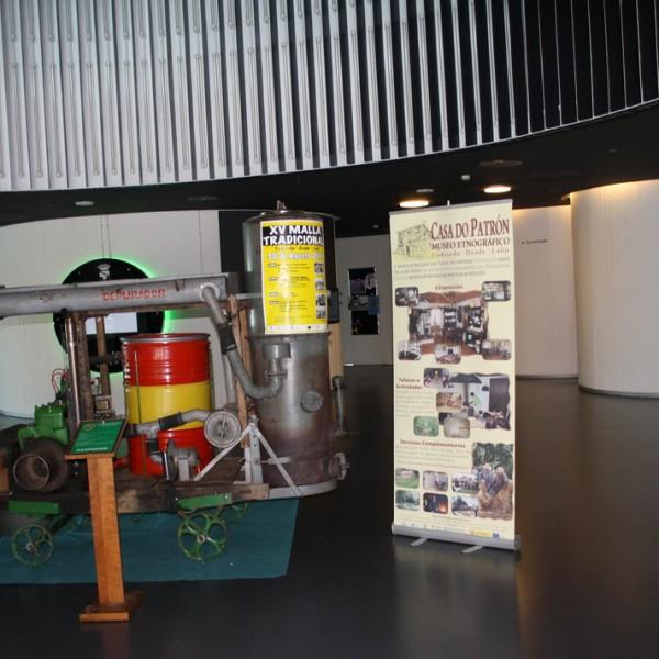 Exposición temporal del motor gasógeno