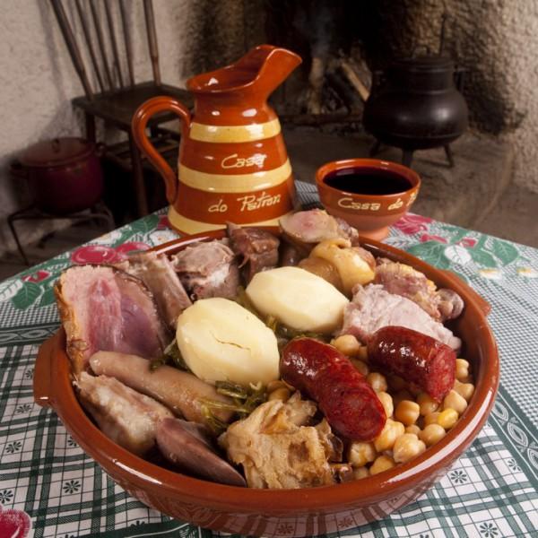 Cocido de Lalín en Restaurante Casa do Patrón