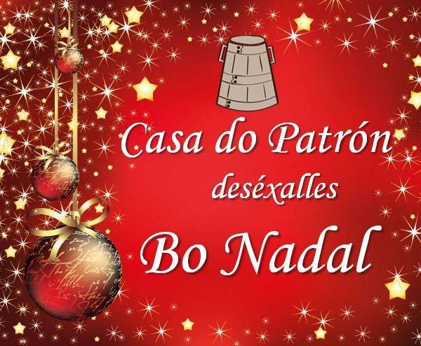 Bo Nadal e próspero ano 2015