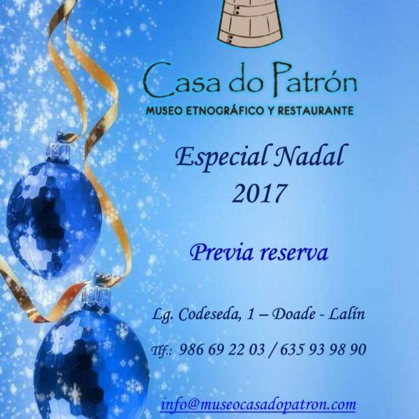 Navidad 2017 en Restaurante Casa do Patrón